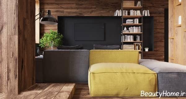 طراحی های متنوع برای آپارتمان های کوچک
