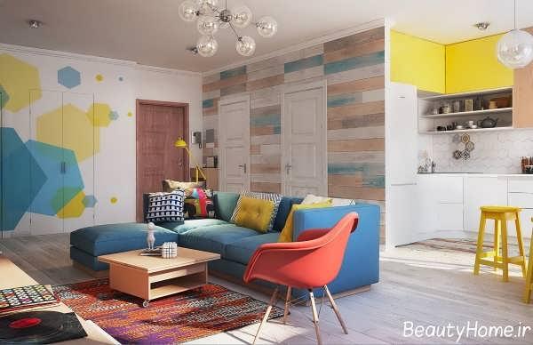 طراحی پذیرایی خانه های کوچک