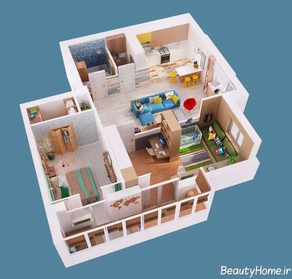 طراحی دکوراسیون داخلی برای آپارتمان های کوچک