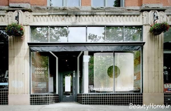 نمای خارجی مغازه با طراحی های زیبا