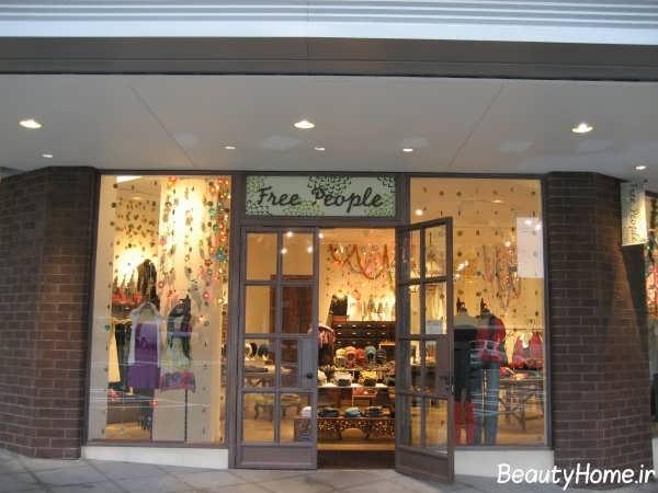 نمای مغازه با طراحی های مدرن
