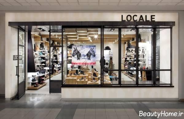 طراحی نمای بیرونی برای مغازه های مختلف