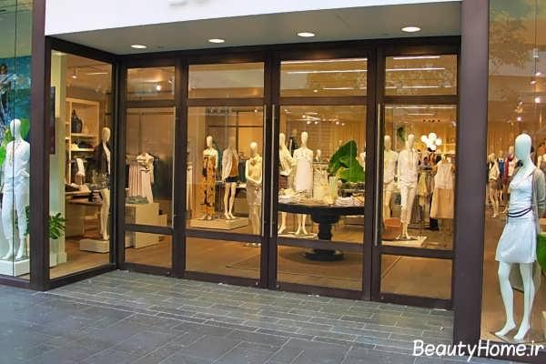 طراحی نما برای مغازه ها