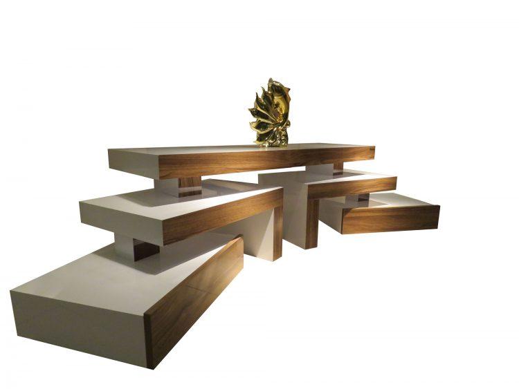 مدل میز تلویزیون پازلی با جدیدترین طرح ها