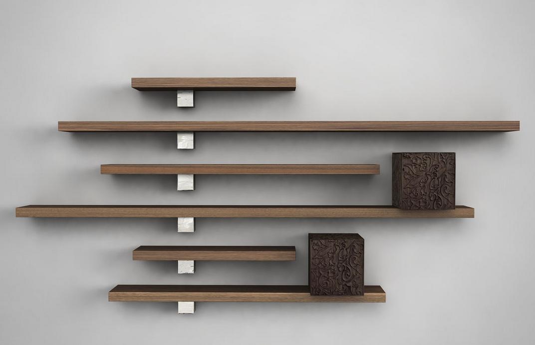 مدل شلف دیواری و باکس های تزیینی با طراحی های جدید و متنوع
