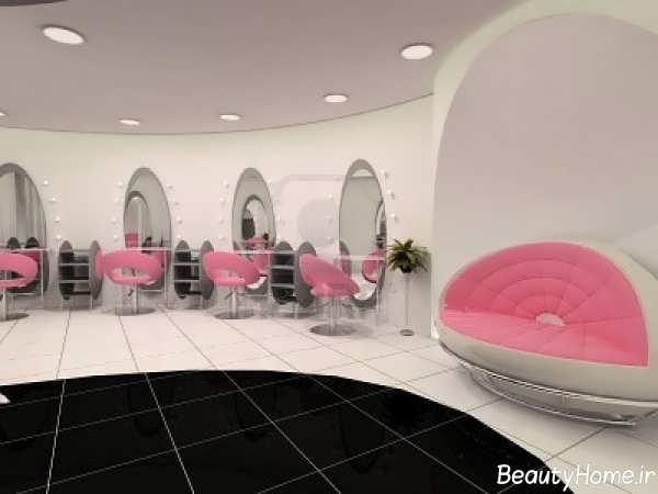 طراحی دکوراسیون داخلی آرایشگاه زنانه