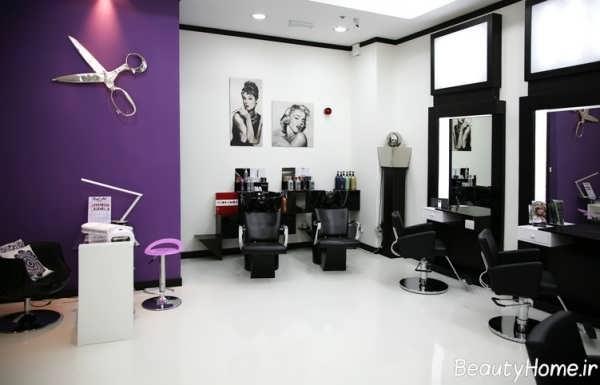 ایده هایی برای طراحی دکوراسیون داخلی آرایشگاه زنانه