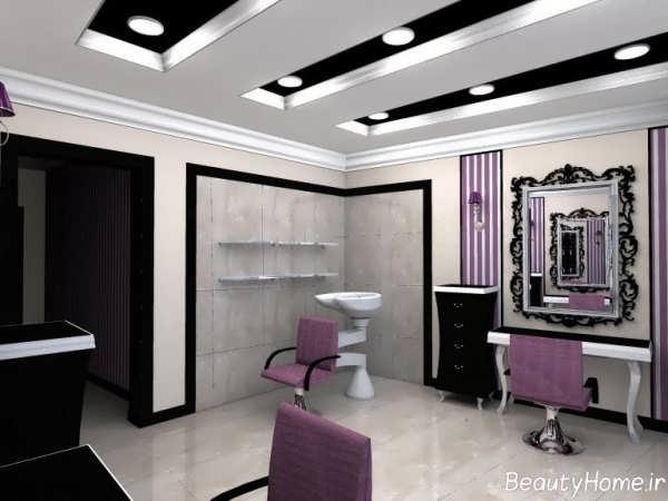 دکوراسیون آرایشگاه زنانه زیبا