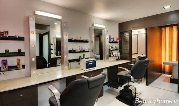 دکوراسیون داخلی آرایشگاه زنانه با طراحی مدرن