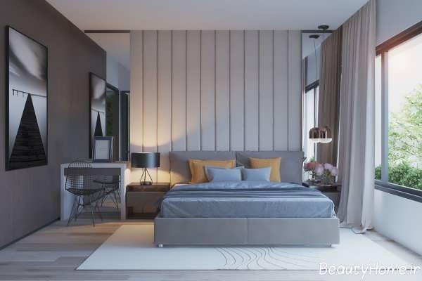 طراحی دکوراسیون زیبا و شیک برای اتاق خواب