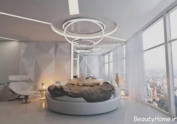 دکوراسیون داخلی اتاق خواب ها با رنگ خاکستری