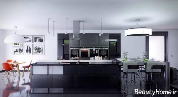 طراحی دکوراسیون داخلی آشپزخانه مدرن