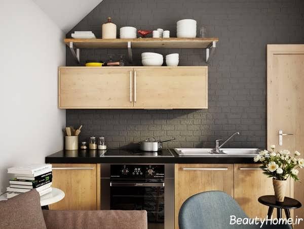دکوراسیون مدرن و لوکس برای آشپزخانه
