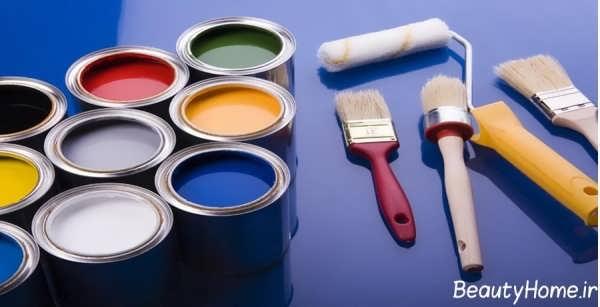معرفی انواع رنگ ساختمان
