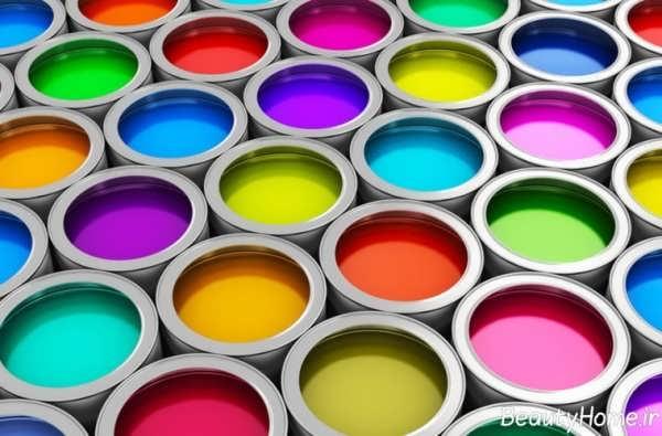 مرعفی انواع رنگ های ساختمانی