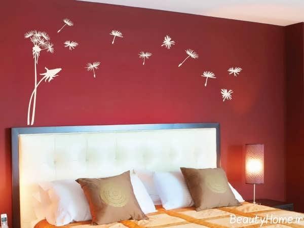 رنگ دیوار اتاق خواب دو نفره