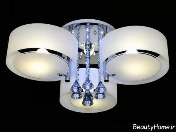 زیباترین مدل های لوستر سقفی
