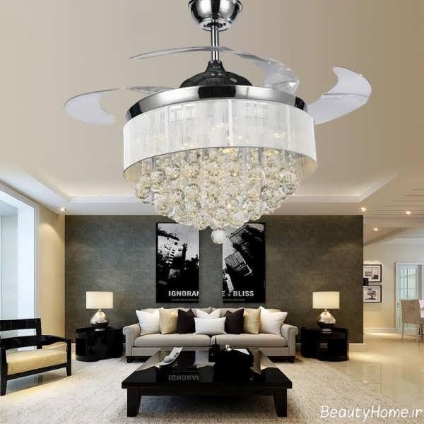 مدل های زیبا و جدید لوستر سقفی