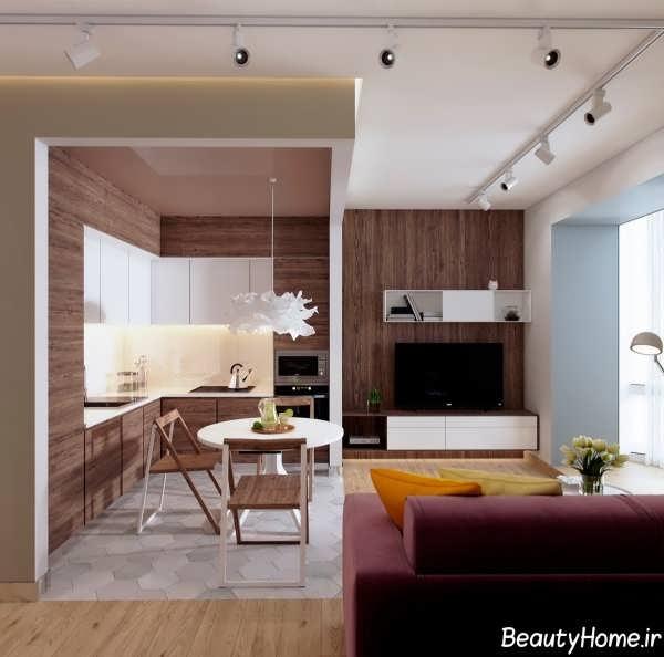 طراحی خانه کوچک با دکوراسیون های متفاوت
