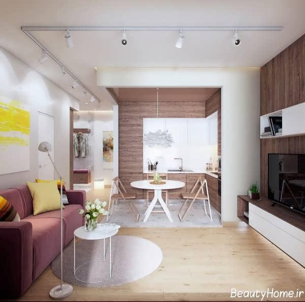 زیباترین و متفاوت ترین طراحی ها برای خانه های کوچک