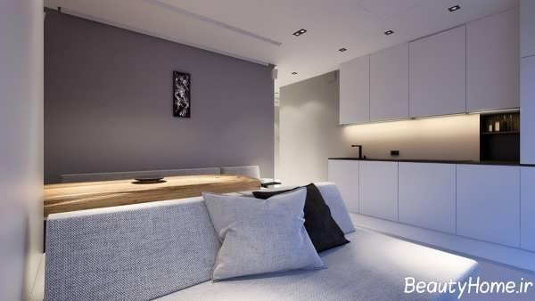 طراحی زیبا و متفاوت برای خانه های کوچک