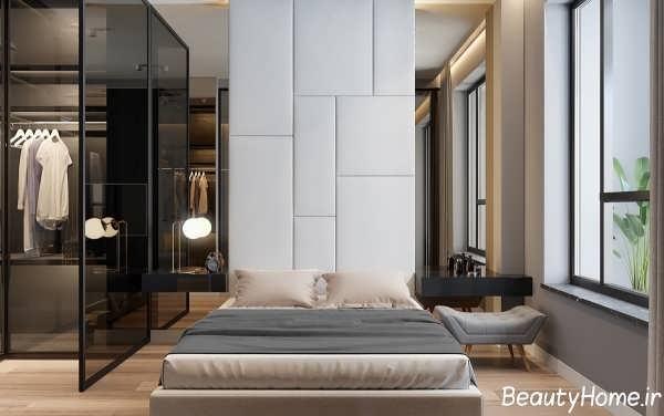 دکوراسیون شیک و کاربردی اتاق خواب