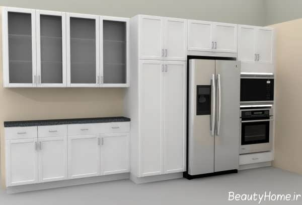 کابینت شیشه ای برای آشپزخانه های لوکس و مدرن