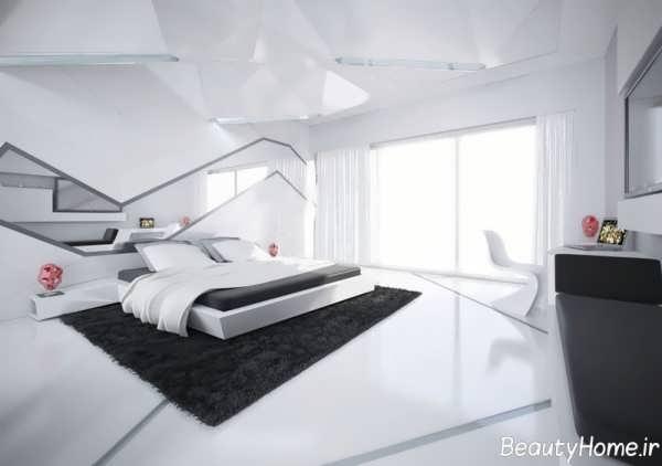 دکوراسیون سفید برای اتاق خواب