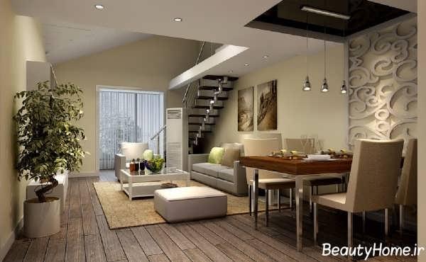 طراحی معماری داخلی خانه های دوبلکس