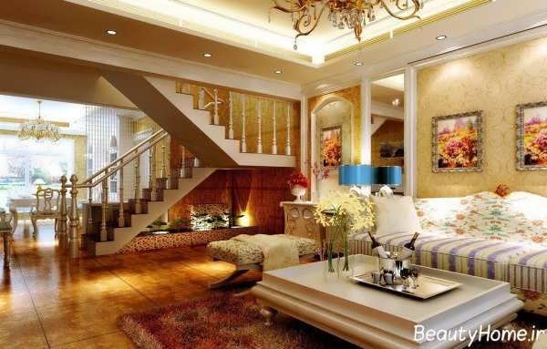 معماری داخلی خانه های دوبلکس با طراحی های مدرن و شیک