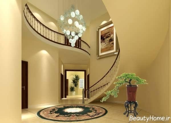 معماری داخلی خانه های دوبلکس شیک و زیبا