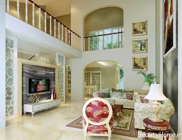 Attractive Home Interior Ideas: معماری داخلی خانه های دوبلکس مدرن و لوکس
