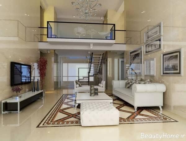 معماری داخلی شیک و زیبا برای خانه های دوبلکس