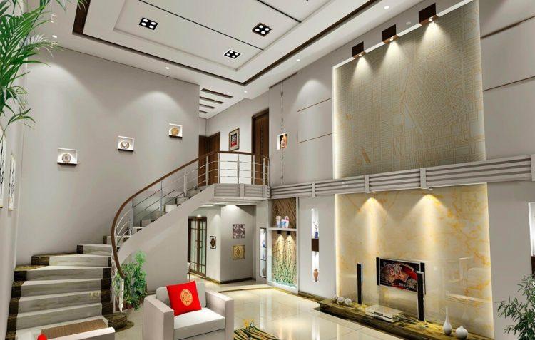 معماری داخلی خانه های دوبلکس مدرن و شیک
