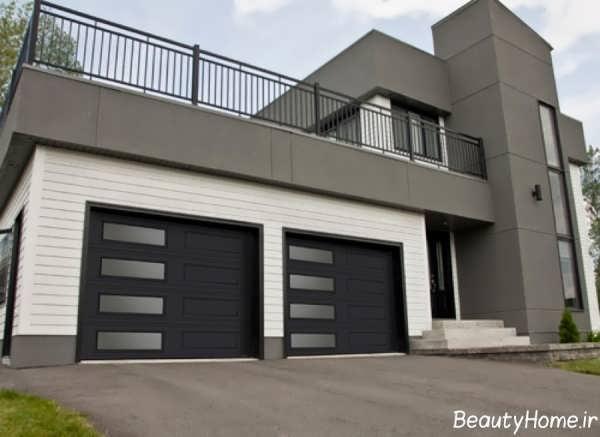 - Porte de garage moderne ...