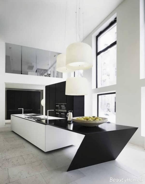 مدل بار آشپزخانه با طراحی مدرن