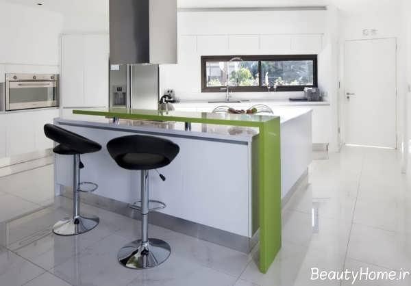 بار آشپزخانه با دیزاین شیک