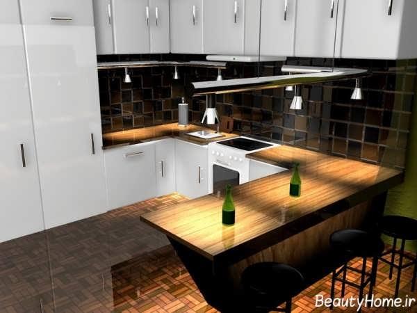 جدیدترین مدل های بار آشپزخانه