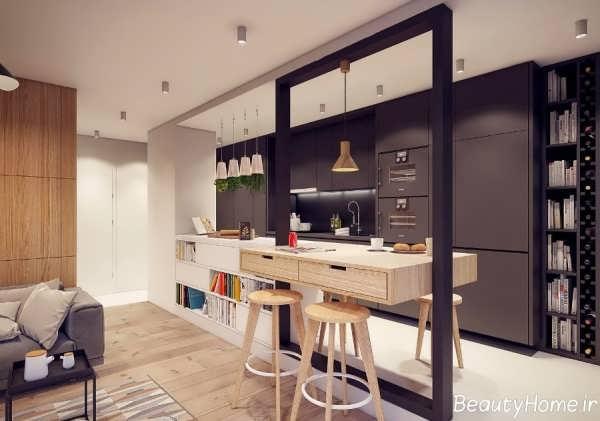 انواع مدل های بار آشپزخانه