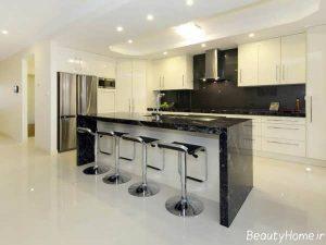 بار آشپزخانه با طراحی مدرن