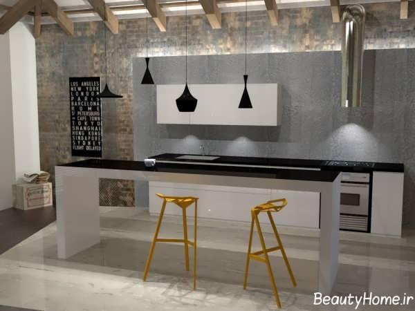 مدل های بار آشپزخانه با طراحی زیبا