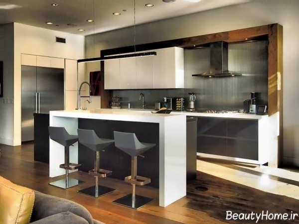 انواع مدل های بار آشپزخانه زیبا و مدرن