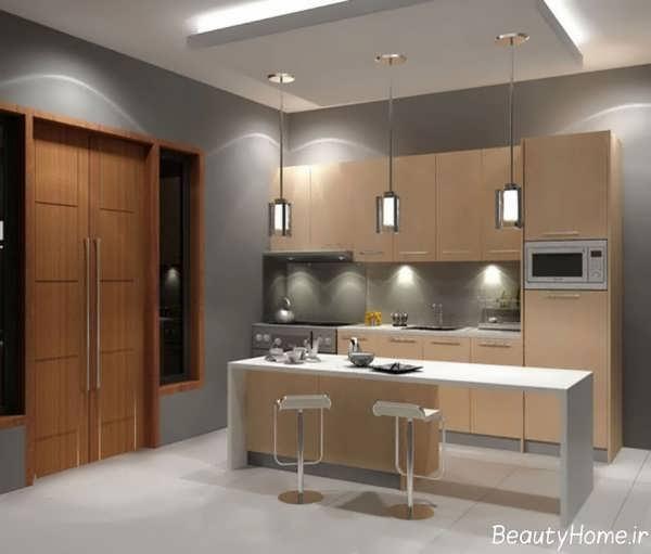 انواع مدل های بار آشپزخانه زیبا و شیک