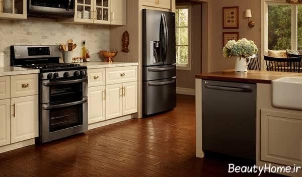 مدل کابینت لوکس آشپزخانه با طرح های زیبا و شیک