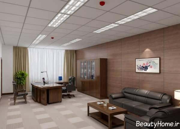 طراحی دکوراسیون داخلی برای دفتر کار زیبا و شیک