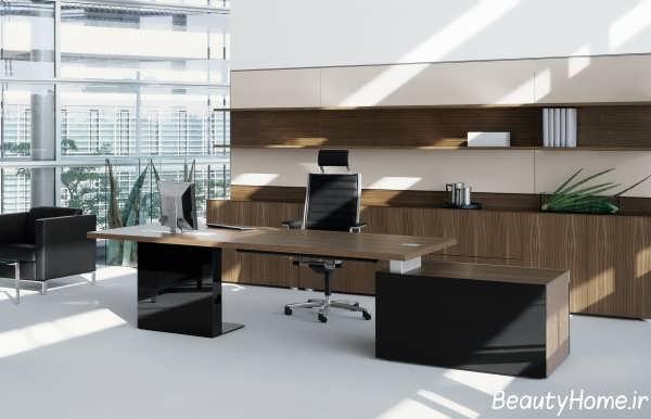 طراحی داخلی دکوراسیون دفتر کار با کمک ایده های کاربردی