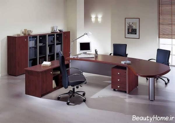 ایده هایی برای طراحی دکوراسیون داخلی دفتر کار مدرن و شیک