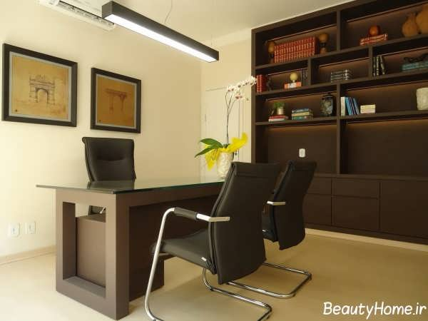 طراحی های زیبا و مدرن دکوراسیون داخلی دفتر کار