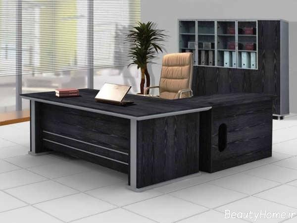 دیزاین دکوراسیون داخلی دفتر کار مدرن و زیبا