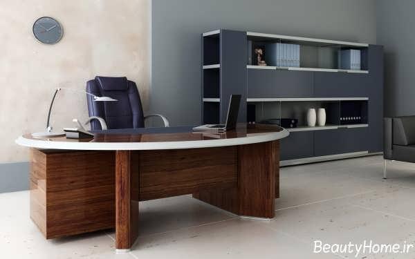 طراحی دکوراسیون داخلی دفتر کار زیبا و شیک